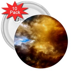 Cloudscape 10 Pack Large Button (Round)