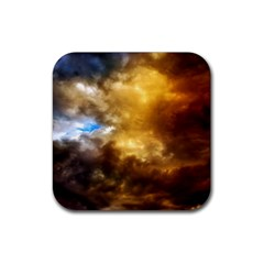 Cloudscape 4 Pack Rubber Drinks Coaster (square)
