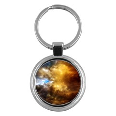 Cloudscape Key Chain (Round)