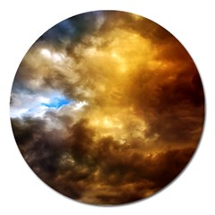 Cloudscape Extra Large Sticker Magnet (Round)