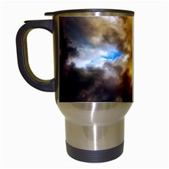 Cloudscape White Travel Mug