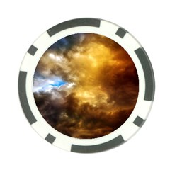 Cloudscape Poker Chip