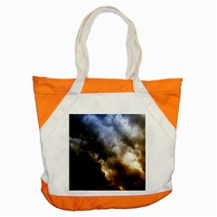 Cloudscape Snap Tote Bag