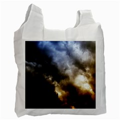 Cloudscape Single-sided Reusable Shopping Bag