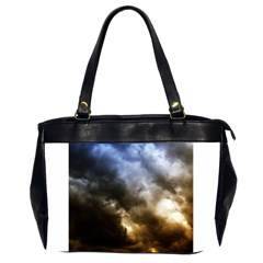 Cloudscape Twin Sided Oversized Handbag