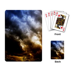 Cloudscape Standard Playing Cards