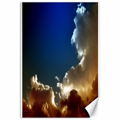 Cloudscape 12  X 18  Unframed Canvas Print