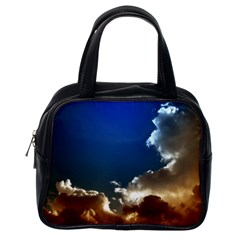 Cloudscape Single Sided Satchel Handbag