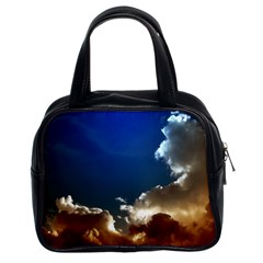 Cloudscape Twin Sided Satchel Handbag
