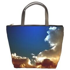 Cloudscape Bucket Handbag