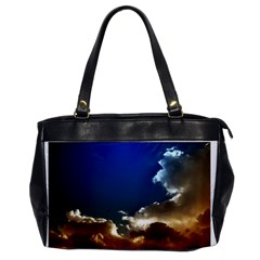 Cloudscape Single Sided Oversized Handbag