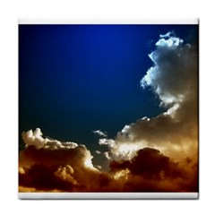 Cloudscape Face Towel