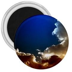 Cloudscape Large Magnet (round)