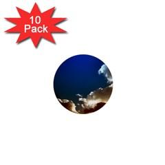 Cloudscape 10 Pack Mini Button (Round)