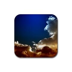 Cloudscape Rubber Drinks Coaster (Square)