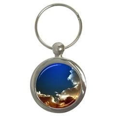 Cloudscape Key Chain (round)