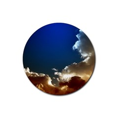 Cloudscape 4 Pack Rubber Drinks Coaster (round)
