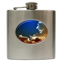 Cloudscape Hip Flask