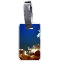 Cloudscape Single-sided Luggage Tag