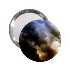 cloudscape Handbag Mirror
