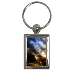 cloudscape Key Chain (Rectangle)
