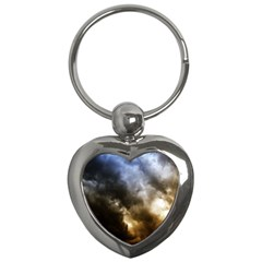 Cloudscape Key Chain (heart)