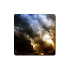 cloudscape Large Sticker Magnet (Square)