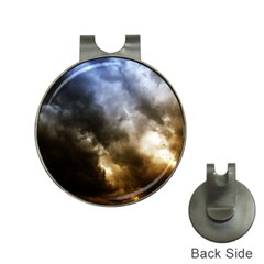 Cloudscape Hat Clip With Golf Ball Marker
