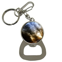 cloudscape Key Chain with Bottle Opener