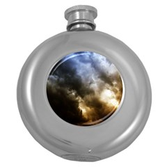 Cloudscape Hip Flask (round)