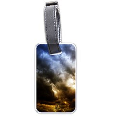 Cloudscape Single Sided Luggage Tag