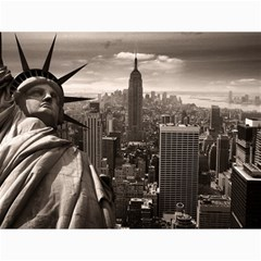 Statue of Liberty, New York 12  x 16  Unframed Canvas Print