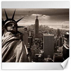 Statue of Liberty, New York 20  x 20  Unframed Canvas Print
