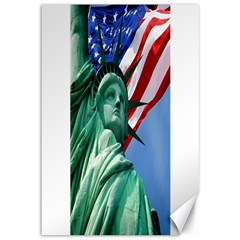 Statue Of Liberty, New York 12  X 18  Unframed Canvas Print