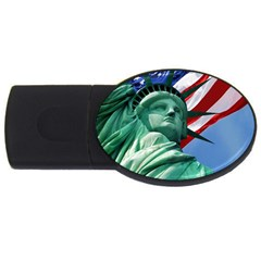 Statue of Liberty, New York 2Gb USB Flash Drive (Oval)