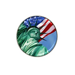 Statue Of Liberty, New York 4 Pack Golf Ball Marker (for Hat Clip)