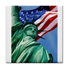 Statue of Liberty, New York Face Towel