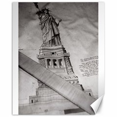 Statue Of Liberty, New York 16  X 20  Unframed Canvas Print
