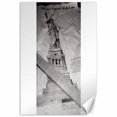 Statue of Liberty, New York 20  x 30  Unframed Canvas Print