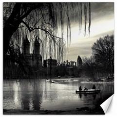 Central Park, New York 12  x 12  Unframed Canvas Print