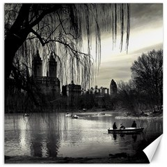 Central Park, New York 16  x 16  Unframed Canvas Print