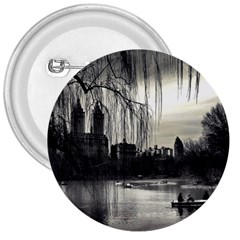 Central Park, New York Large Button (Round)