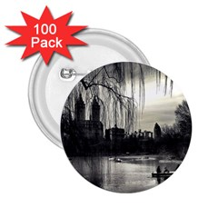 Central Park, New York 100 Pack Regular Button (round)