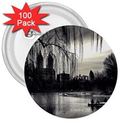 Central Park, New York 100 Pack Large Button (Round)