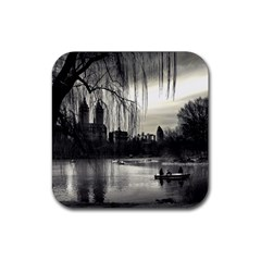 Central Park, New York 4 Pack Rubber Drinks Coaster (square)