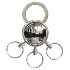 Central Park, New York 3-Ring Key Chain
