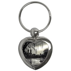 Central Park, New York Key Chain (Heart)