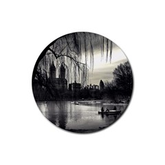 Central Park, New York 4 Pack Rubber Drinks Coaster (Round)
