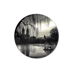 Central Park, New York Large Sticker Magnet (round)