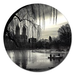 Central Park, New York Extra Large Sticker Magnet (round)